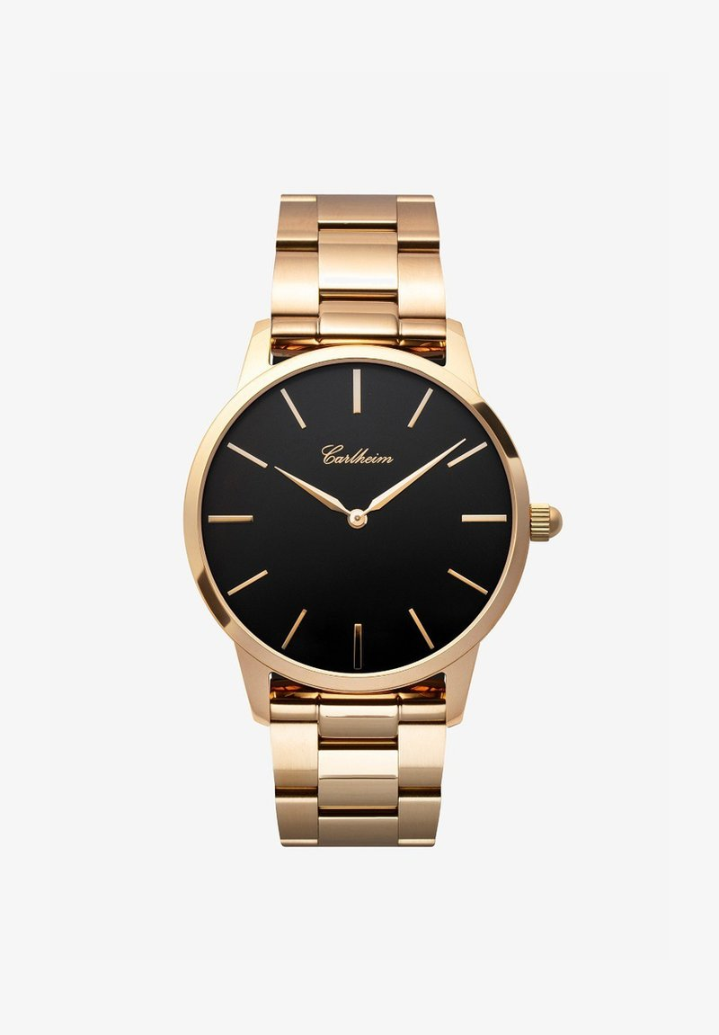 Carlheim - FREDERIK V 40MM - Montre - rose gold-black