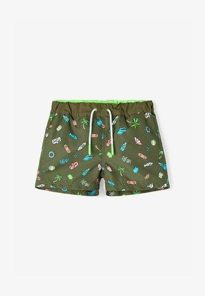 Swimming shorts - ivy green