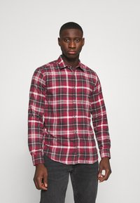 Only & Sons - ONSBOBBY WASHED CHECK - Skjorta - sun dried tomato - 0