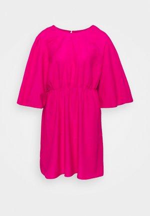 PUFF SLEEVE SKATER DRESS - Kjole - pink
