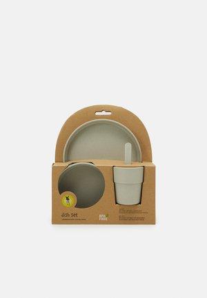 DISH SET UNISEX - Kids' tableware set - warm grey