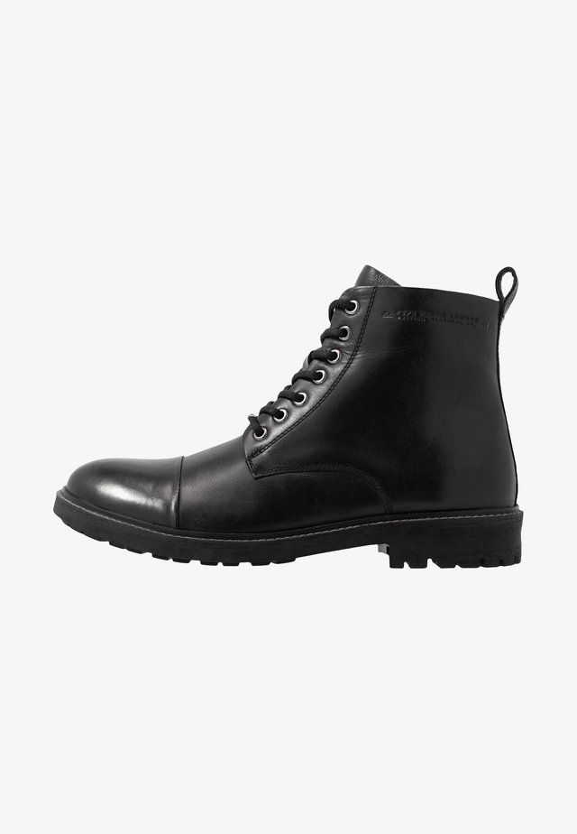 PORTER BOOT - Snørestøvletter - black