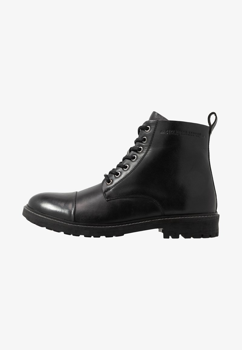 Pepe Jeans - PORTER BOOT - Lace-up ankle boots - black