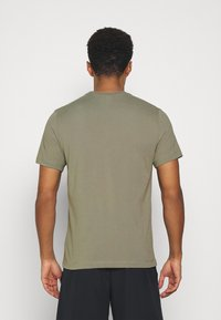 Nike Performance - TEE CREW SOLID - Basic T-shirt - light army/black - 2