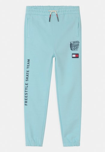 COOL GRAPHIC - Tracksuit bottoms - frost blue