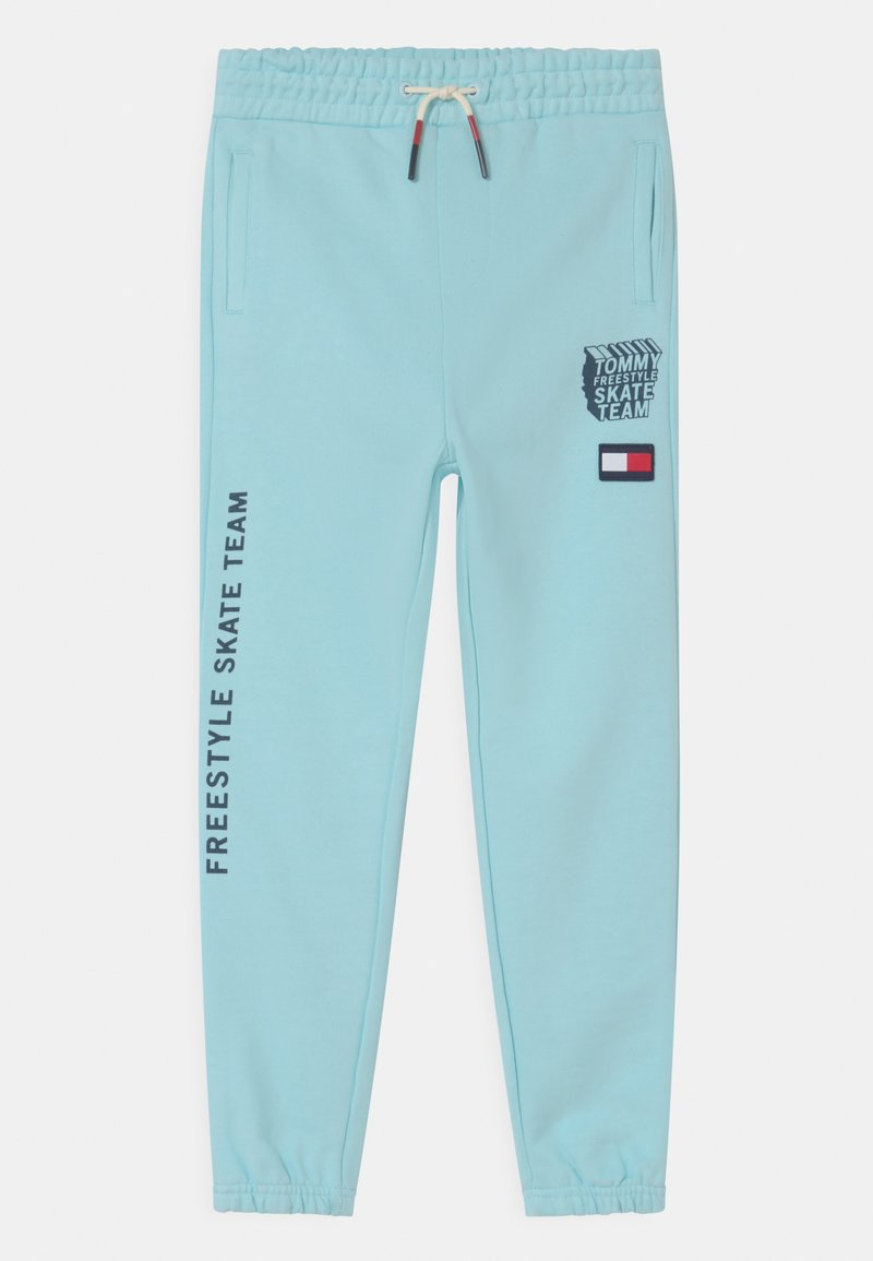 Tommy Hilfiger - COOL GRAPHIC - Tracksuit bottoms - frost blue