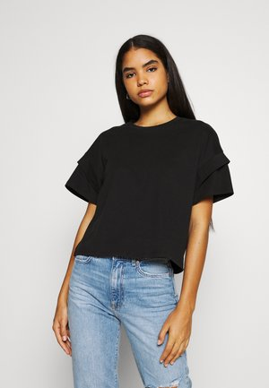 NMABIGALE - T-shirt basic - black