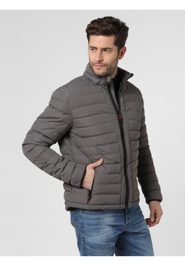 Down jacket - grau