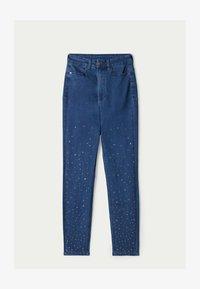 Tezenis - MIT NIETEN IN STERNFORM - Jeans Skinny Fit - blu jeans - 4