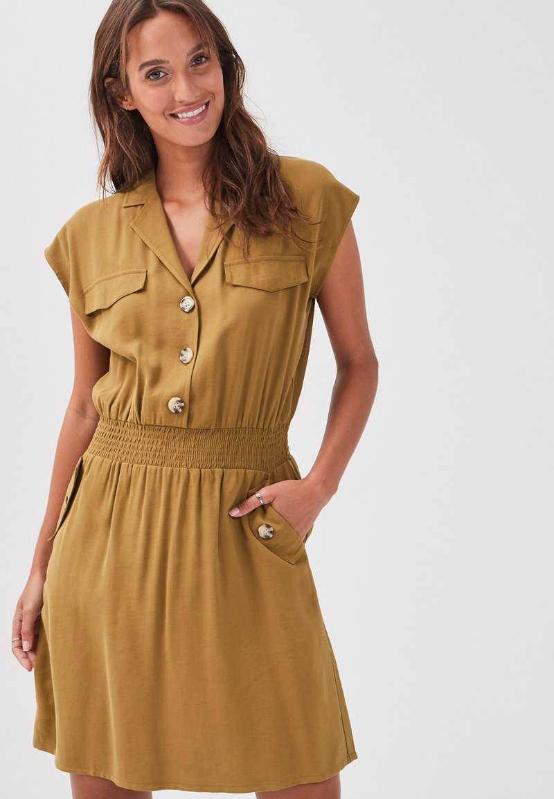 Cache Cache - Shirt dress - olive green