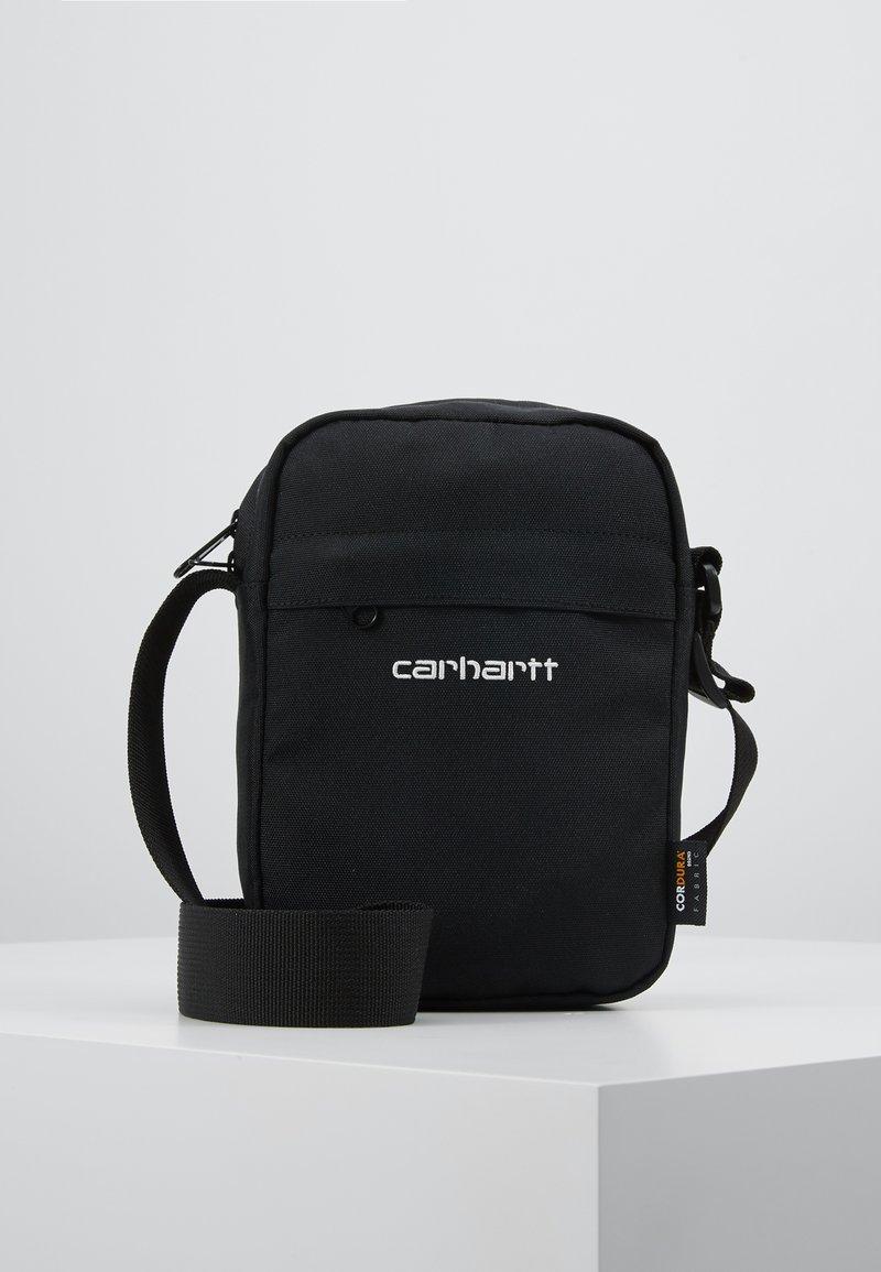 Carhartt WIP - PAYTON SHOULDER POUCH UNISEX - Taška spříčným popruhem - black/white