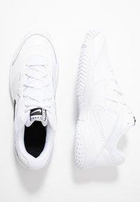 Nike Performance - COURT LITE 2 - Multicourt tennis shoes - white/black - 1