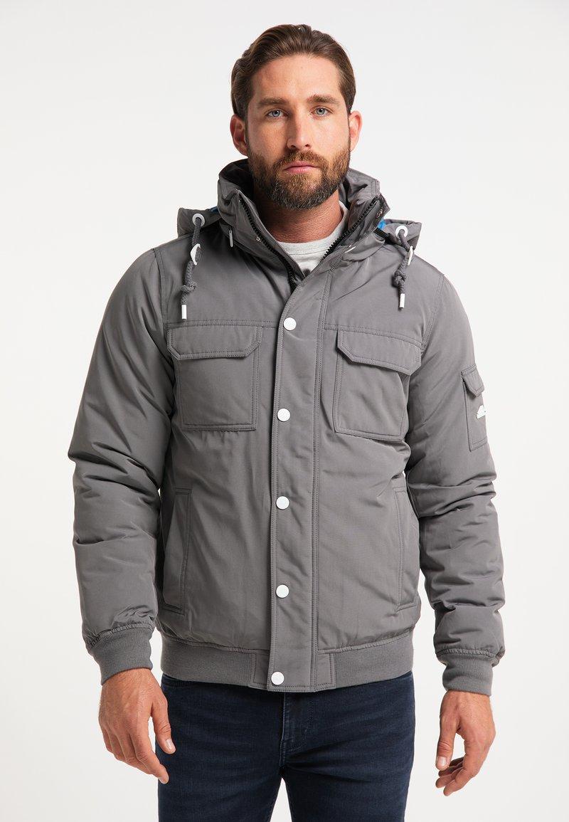 ICEBOUND - Bomber Jacket - grau