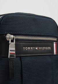 Tommy Hilfiger - ELEVATED NYLON MINI REPORTER - Across body bag - blue - 5
