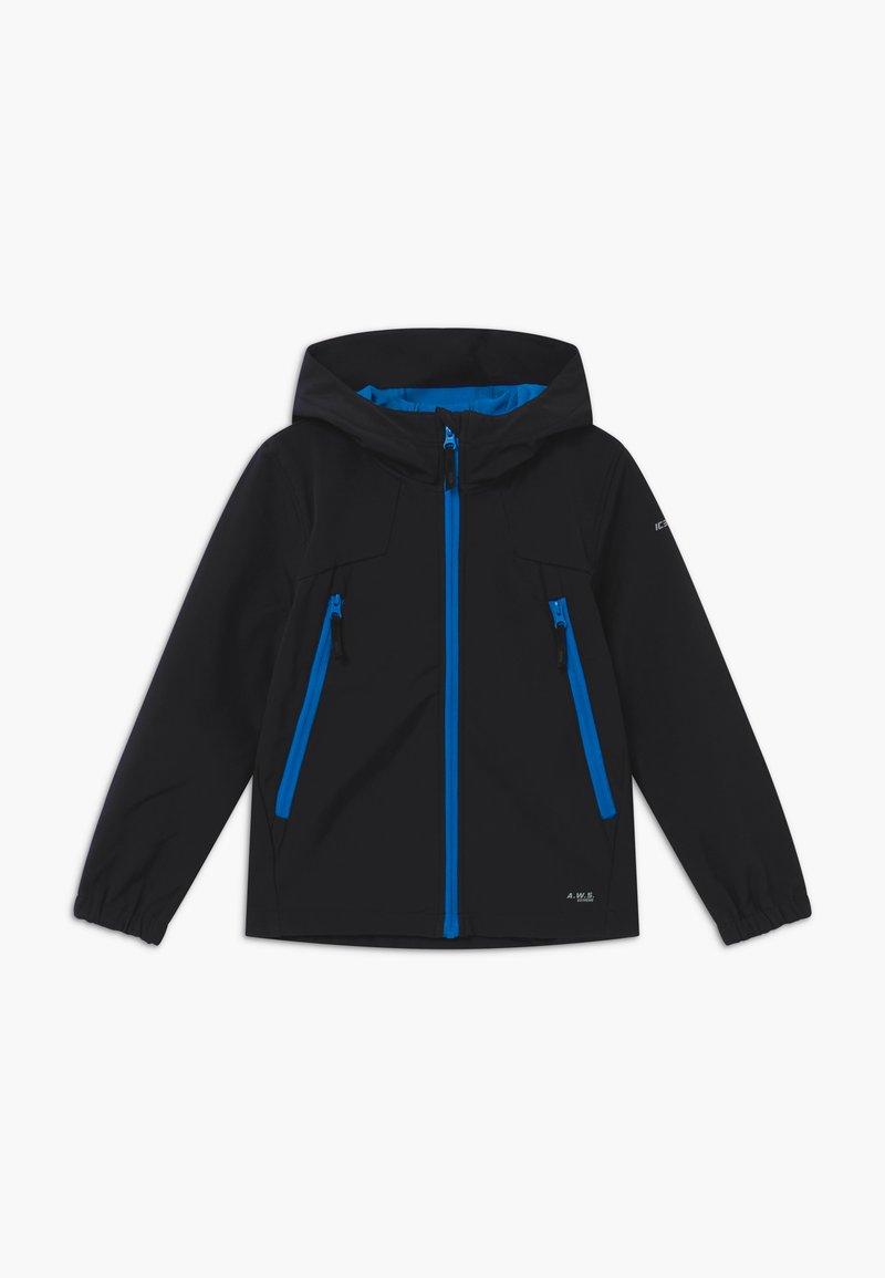 Icepeak - KANEVILLE - Soft shell jacket - blue