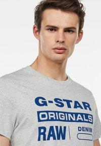 G-Star - GRAPHIC - Print T-shirt - grey - 2