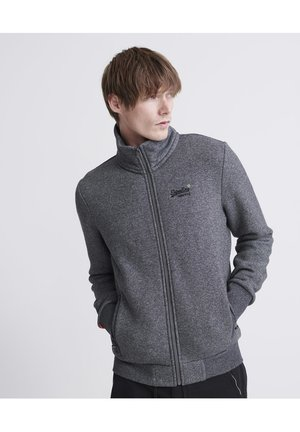 ORANGE LABEL CLASSIC - Zip-up hoodie - dark grey