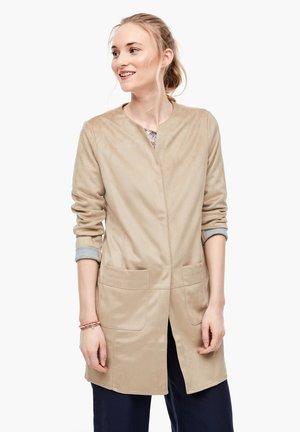 MANTEL - Short coat - brown