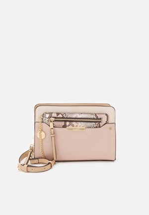 MARGARETHE - Torba na ramię - blush/gold-coloured