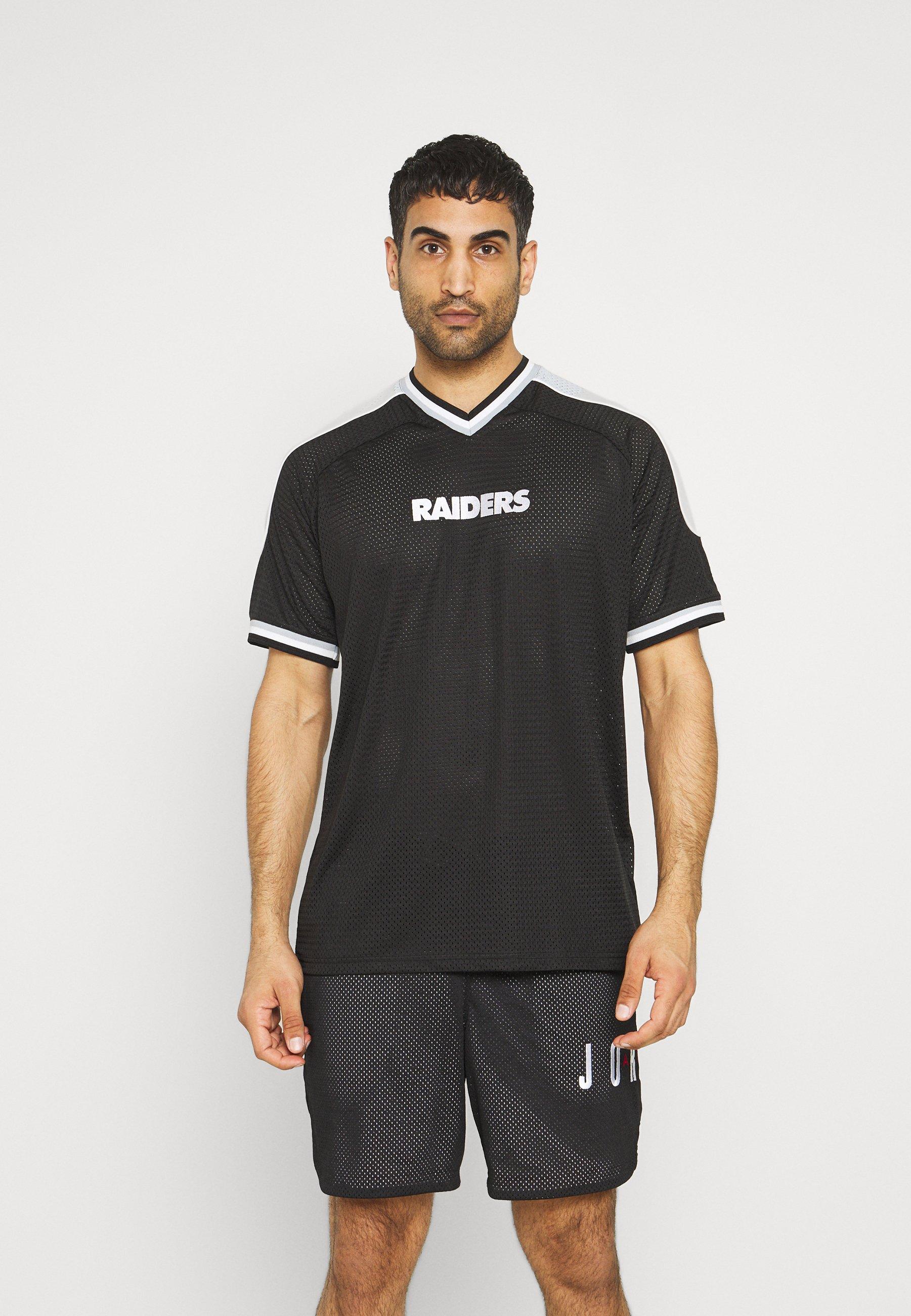 Men LAS VEGAS RAIDERS NFL CONTRAST PANEL - Print T-shirt