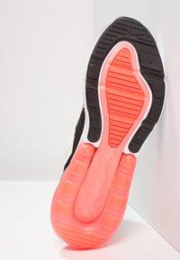 Nike Sportswear - AIR MAX 270 - Sneakers - black/light bone/hot punch/white - 4
