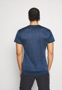 Salewa - PUEZ DRY TEE - Basic T-shirt - dark denim melange - 2