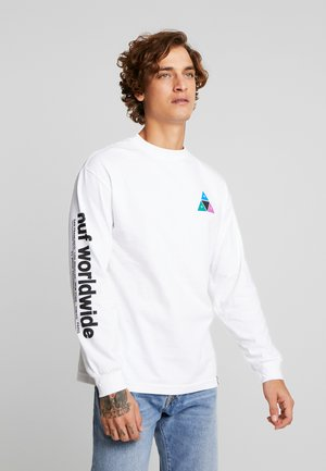 PRISM TEE - Long sleeved top - white