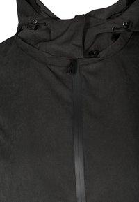 Zizzi - VERSTELLBARER - Waterproof jacket - black - 5