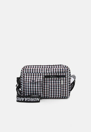 BEL COUTURE CAPPA CHECK - Across body bag - brown