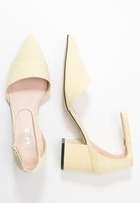 Bianco - BIADIVIVED - Classic heels - yellow - 3
