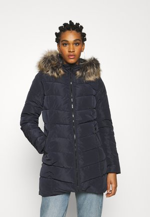 ONLNEWMINEA QUILTED HOOD COAT - Parkas - night sky