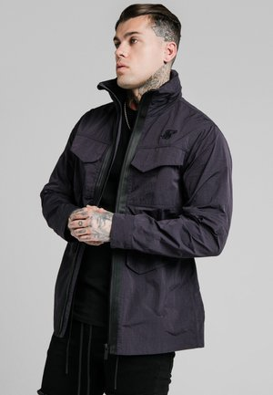 LIGHTWEIGHT ZIP THROUGH JACKET - Giacca leggera - black