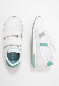 Lacoste - PARTNER  - Baskets basses - white/turquoise - 0