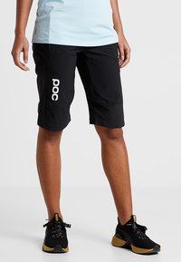 POC - ESSENTIAL SHORTS - Sports shorts - uranium black - 0