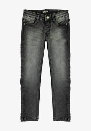 AKSEL - Slim fit jeans - washed black