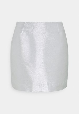 LUCY SKIRT - Minihame - silver