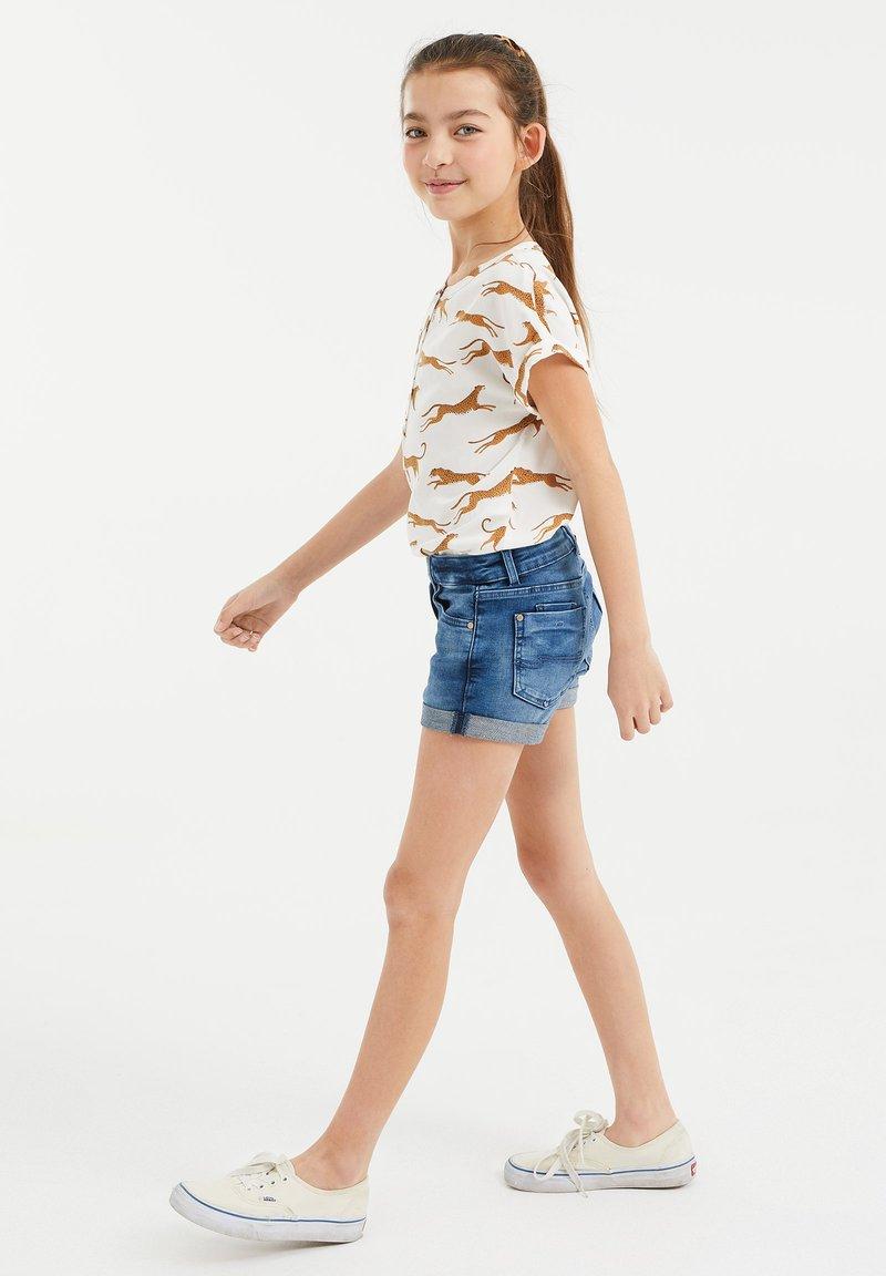 WE Fashion - Denim shorts - blue