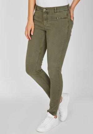 'MALU ZIP'  - Jeans Skinny Fit - khaki