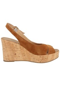 NeroGiardini - High heeled sandals - tabacco - 6