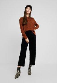 Object - Pullover - brown patina melange - 1