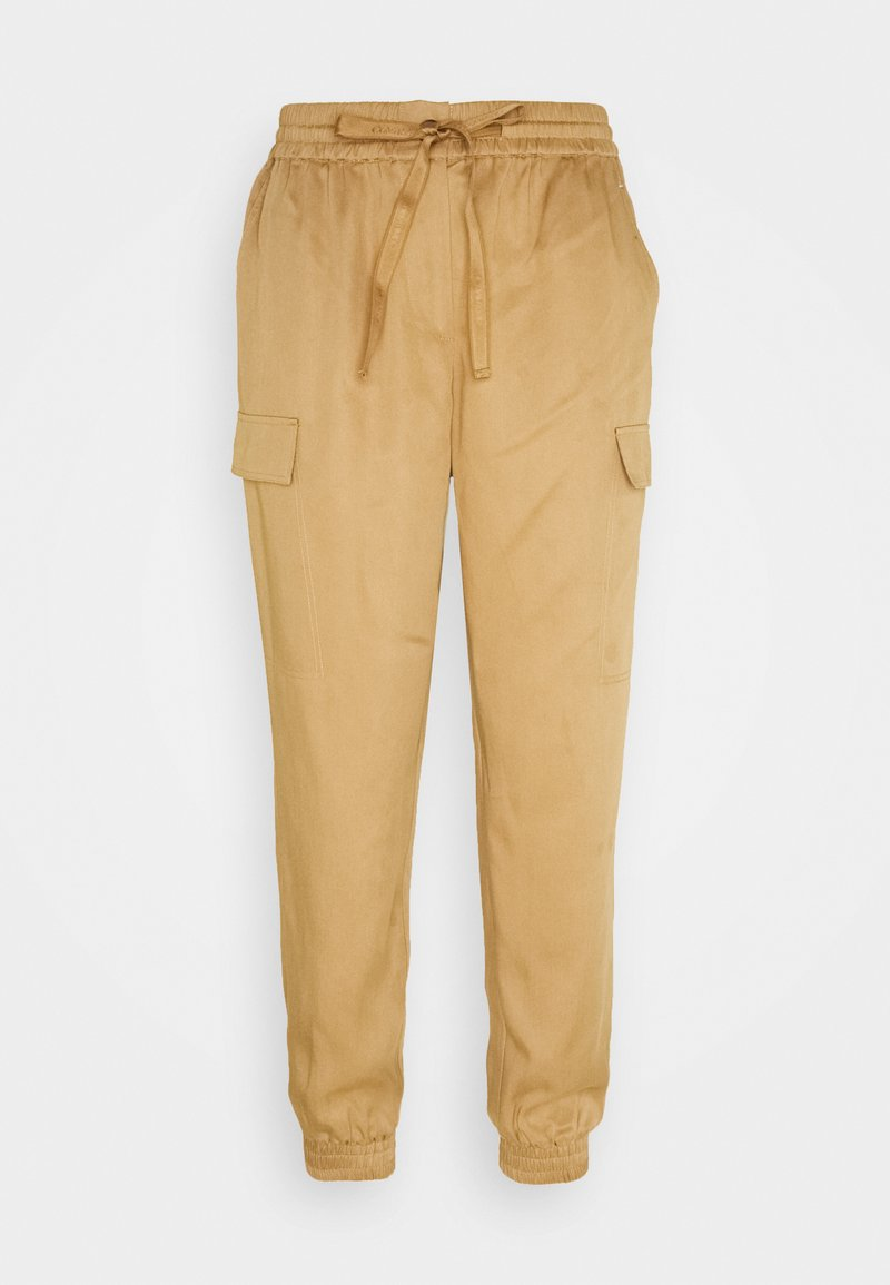 Calvin Klein - PANTS - Cargo trousers - countryside khaki
