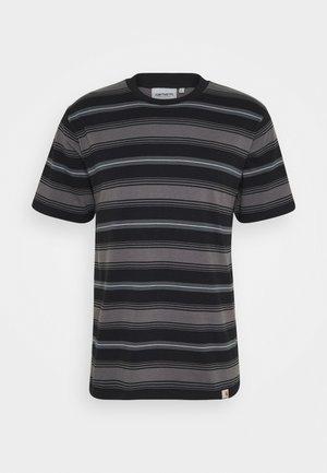 BUREN  - T-shirt z nadrukiem - black