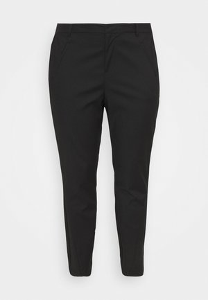 VMVICTORIA ANTIFIT ANKLE PANTS - Trousers - black