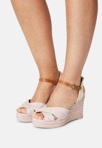 Pepe Jeans - MAIDA ANY - Platform sandals - pink - 0