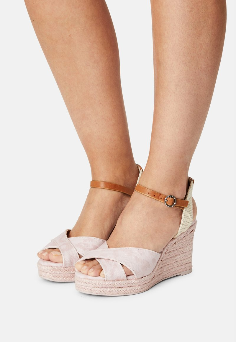 Pepe Jeans - MAIDA ANY - Platform sandals - pink