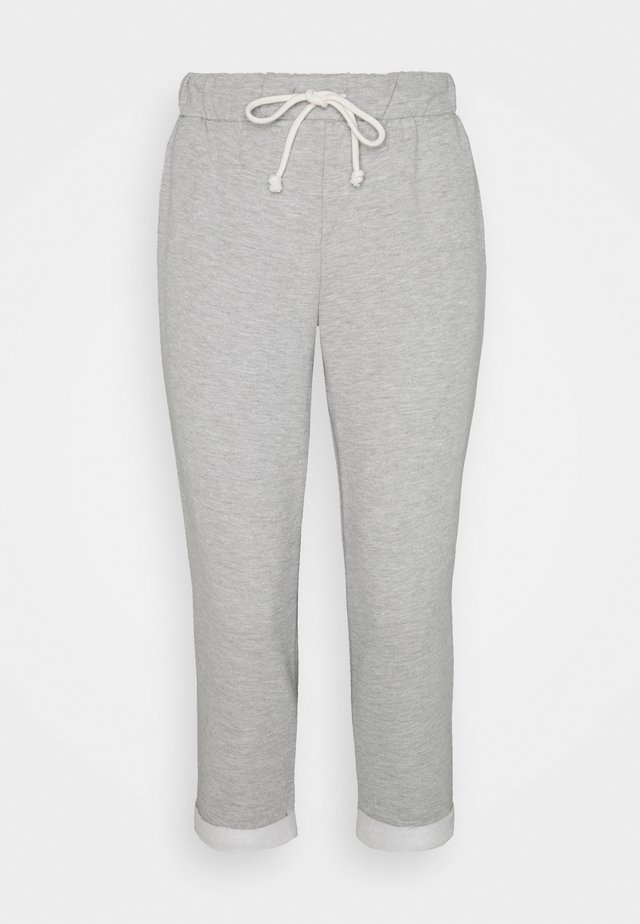 BASIC JOGGER - Pantaloni sportivi - grey marl
