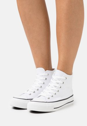 BRITT RETRO - Baskets montantes - white
