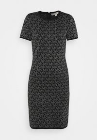 MICHAEL Michael Kors - DOT - Shift dress - black/silver - 4
