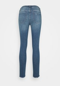 Abercrombie & Fitch - CLEARN MID RISE ANKLE - Jeans Skinny Fit - blue denim - 1