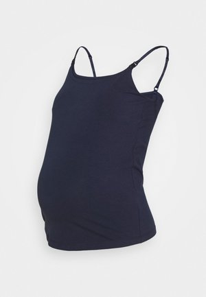 NURSING FUNCTION cami top - Toppe - dark blue